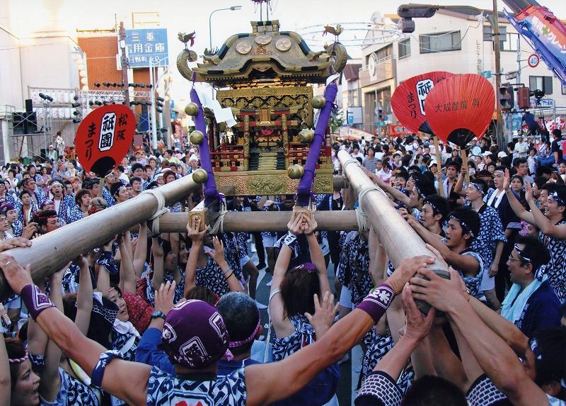 2017年7月15日(土)、16日(日)松阪祇園まつり
