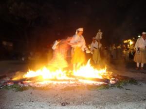 令和3年7月24日(土)愛宕山火渡り