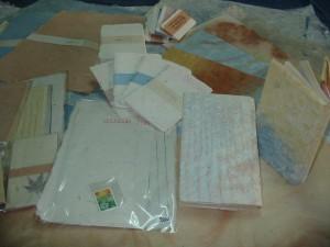 手漉き和紙作品