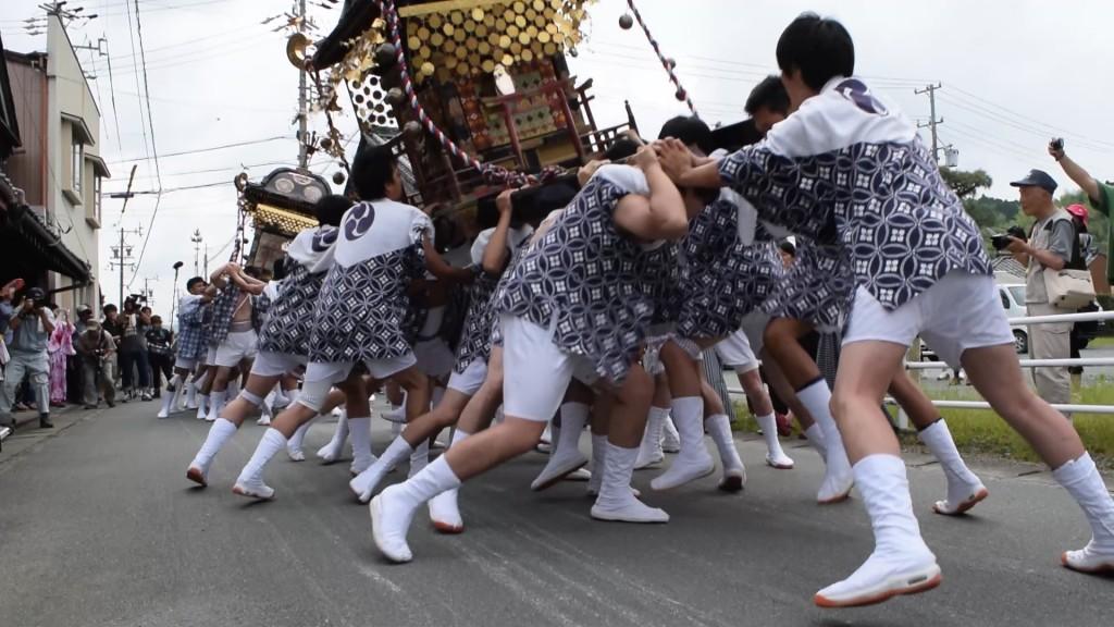 射和祇園祭 神輿