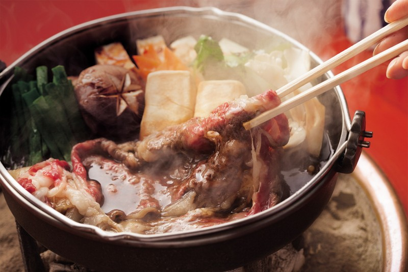 2020年2月22日(土)「寒い季節は、やっぱりスキヤキ!」連続講座 江戸の老舗の旦那衆が松阪にやって来た!