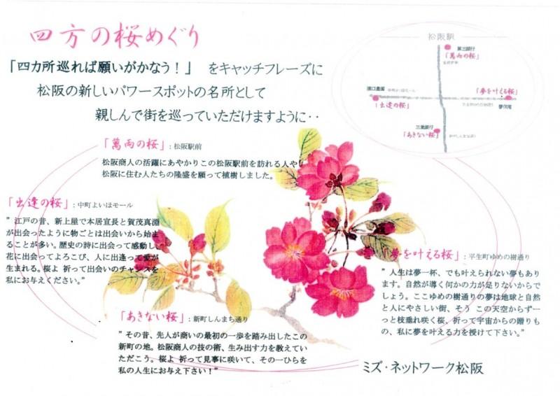 四方の桜めぐり