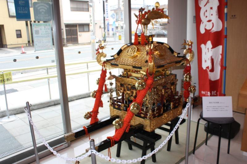 令和3年6月27日(日)~7月16日(金)子供神輿展示 豪商のまち松阪観光交流センター