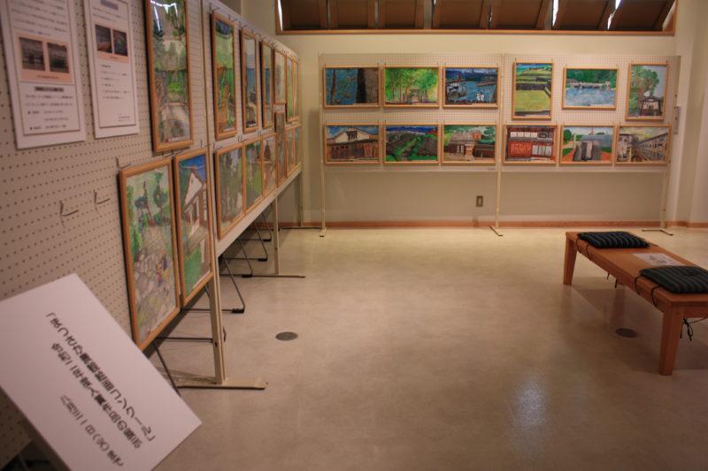 令和3年8月2日(月)~8月31日(火)「令和2年度まつさか景観絵画コンクール」入賞作品33点展示